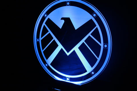 Agents of SHIELD Light Base - Comic Sandwiches Prop Replicas