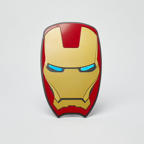 Iron Man Wall Emblem - Comic Sandwiches Prop Replicas