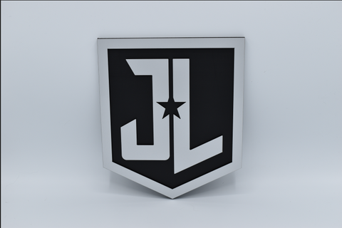 Justice League Emblem - Hanging - Comic Sandwiches Prop Replicas