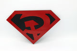 Red Sun Superman Wall emblem - Comic Sandwiches Prop Replicas