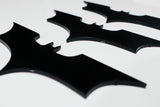 Dark Knight Batarangs - Precision Cut Steel - Comic Sandwiches Prop Replicas