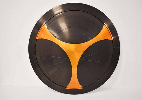 Taskmaster Shield - Metal - Comic Sandwiches Prop Replicas