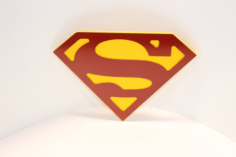 Superman Wall emblem - Comic Sandwiches Prop Replicas