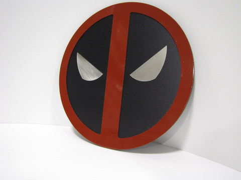 Deadpool wall emblem - Comic Sandwiches Prop Replicas
