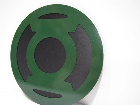 Green Lantern wall emblem - Comic Sandwiches Prop Replicas