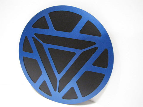 Iron Man Arc Reactor Wall Emblem - Comic Sandwiches Prop Replicas