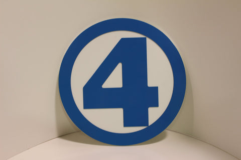 Classic Fantastic Four Wall emblem - Comic Sandwiches Prop Replicas