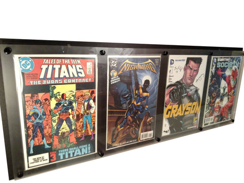 Quad Comic Book Frame - Comic Sandwiches Prop Replicas