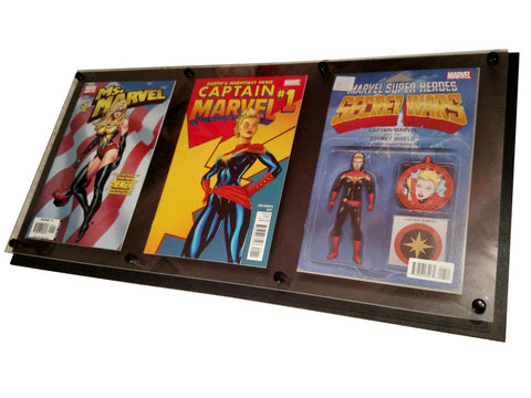 Triple Comic Book Frame - Comic Sandwiches Prop Replicas