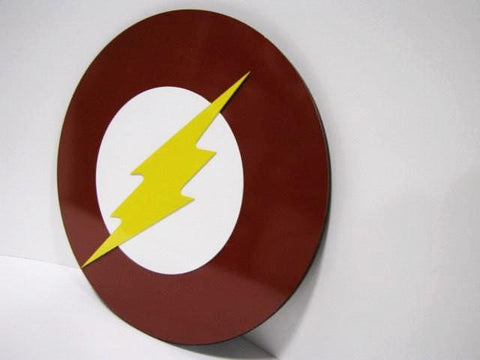 Flash wall emblem - Comic Sandwiches Prop Replicas