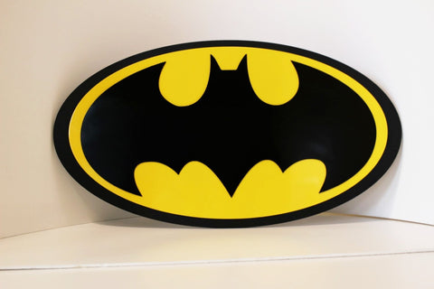 Batman Wall emblem - Comic Sandwiches Prop Replicas