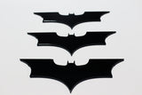 Steel Batarangs - throwable and precision cut - Comic Sandwiches Prop Replicas