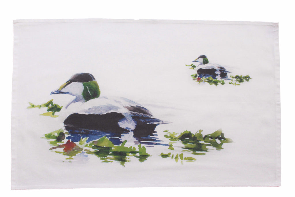 Orkney Storehouse | Eider Drake Tea Towel Feature Product