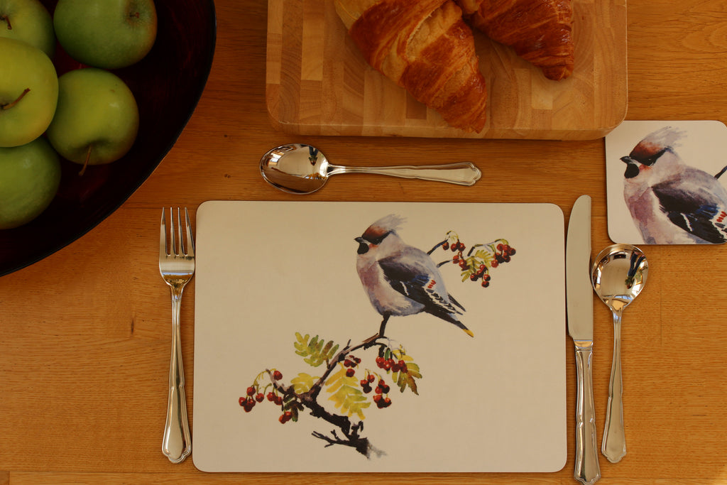 Orkney Storehouse | Waxwing Placemat Setting