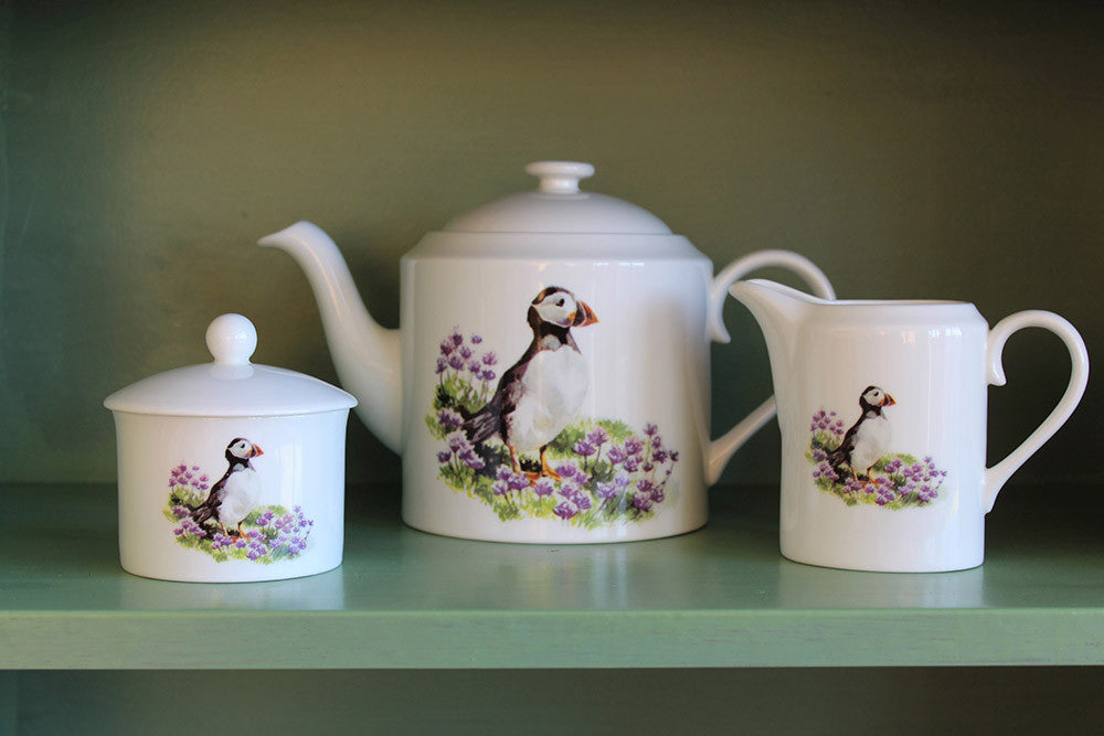 Orkney Storehouse | Puffin Sugar Bowl Lifestyle