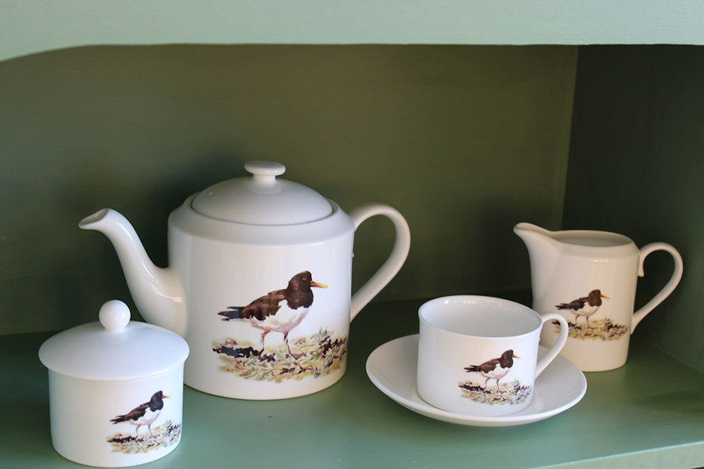 Orkney Storehouse | Oystercatcher Teacup and Saucer Lifestyle