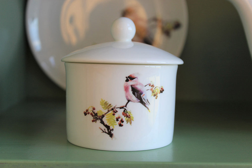 Orkney Storehouse | Waxwing Sugar Bowl Lifestyle 2