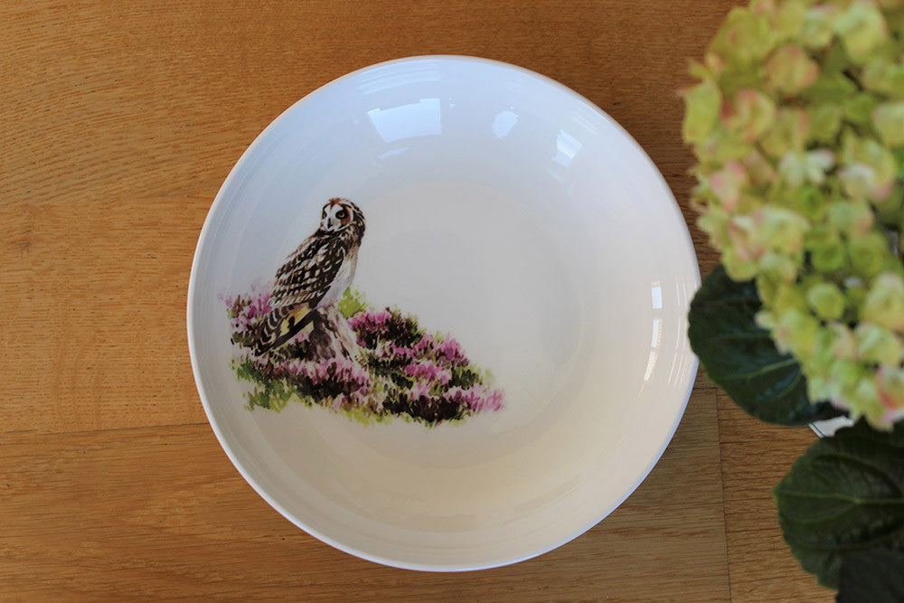 Orkney Storehouse | Short-eared Owl Pasta Bowl Lifestyle