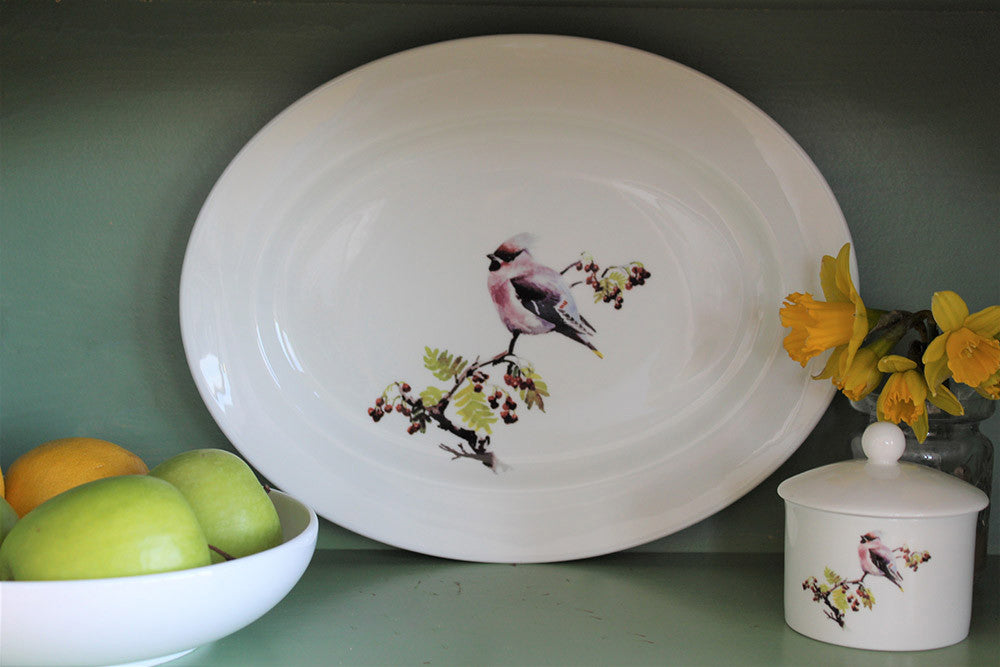 Orkney Storehouse | Waxwing Platter Lifestyle