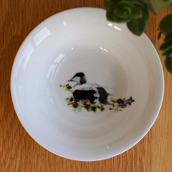 Orkney Storehouse | Eider Drake Cereal Bowl Lifestyle