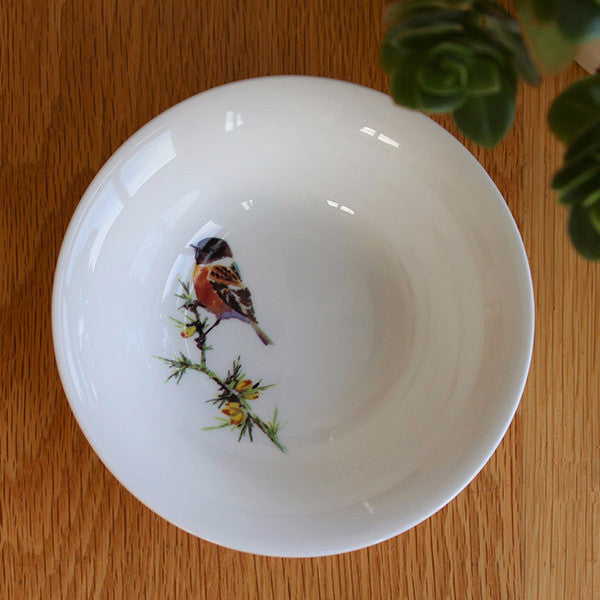 Orkney Storehouse | Stonechat Cereal Bowl Lifestyle