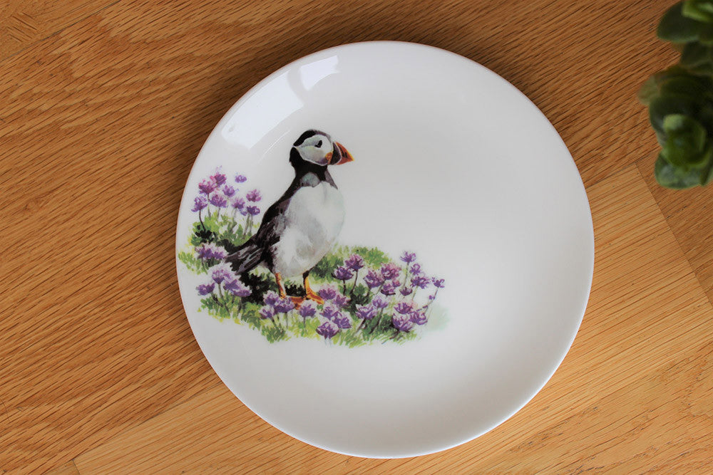 Orkney Storehouse | Puffin Plate Lifestyle