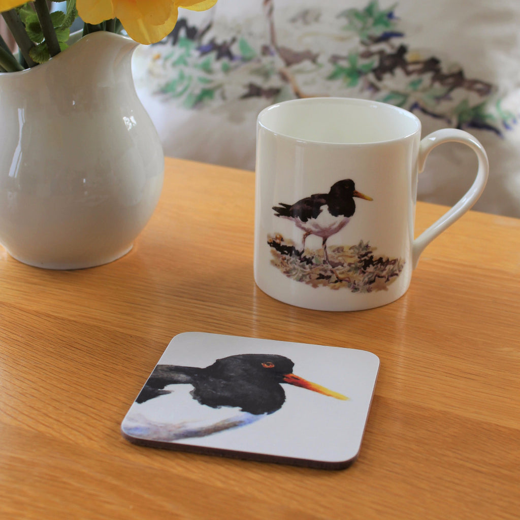 Orkney Storehouse | Oystercatcher Mug and Coaster Set