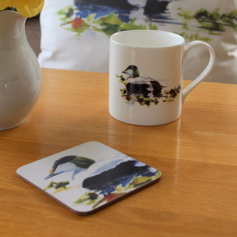 Orkney Storehouse | Eider Drake Mug and Coaster