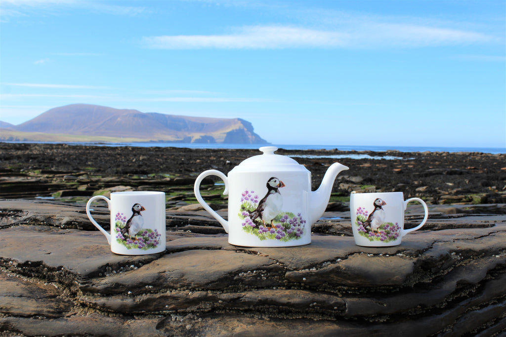 Orkney Storehouse | Puffin Teapot Lifestyle 2