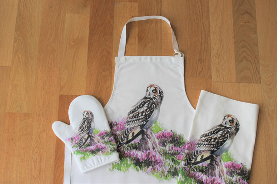 Orkney Storehouse | Short-eared Owl Homeware Set