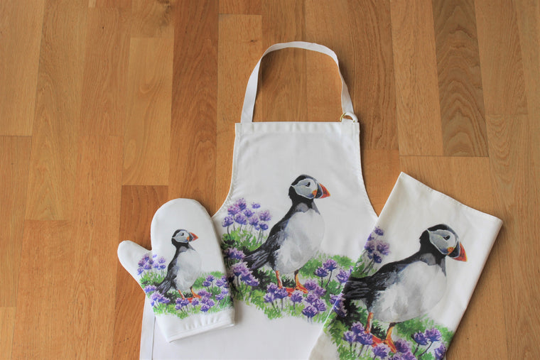 Orkney Storehouse | Puffin Homeware Set
