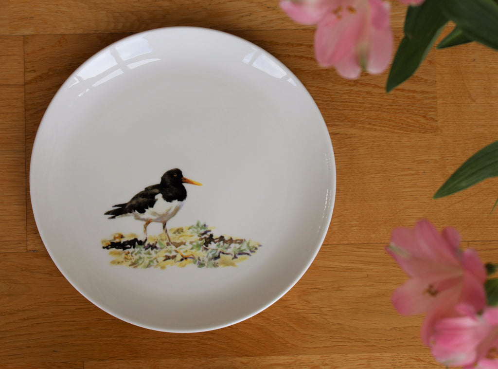 Orkney Storehouse | Oystercatcher Plate Lifestyle