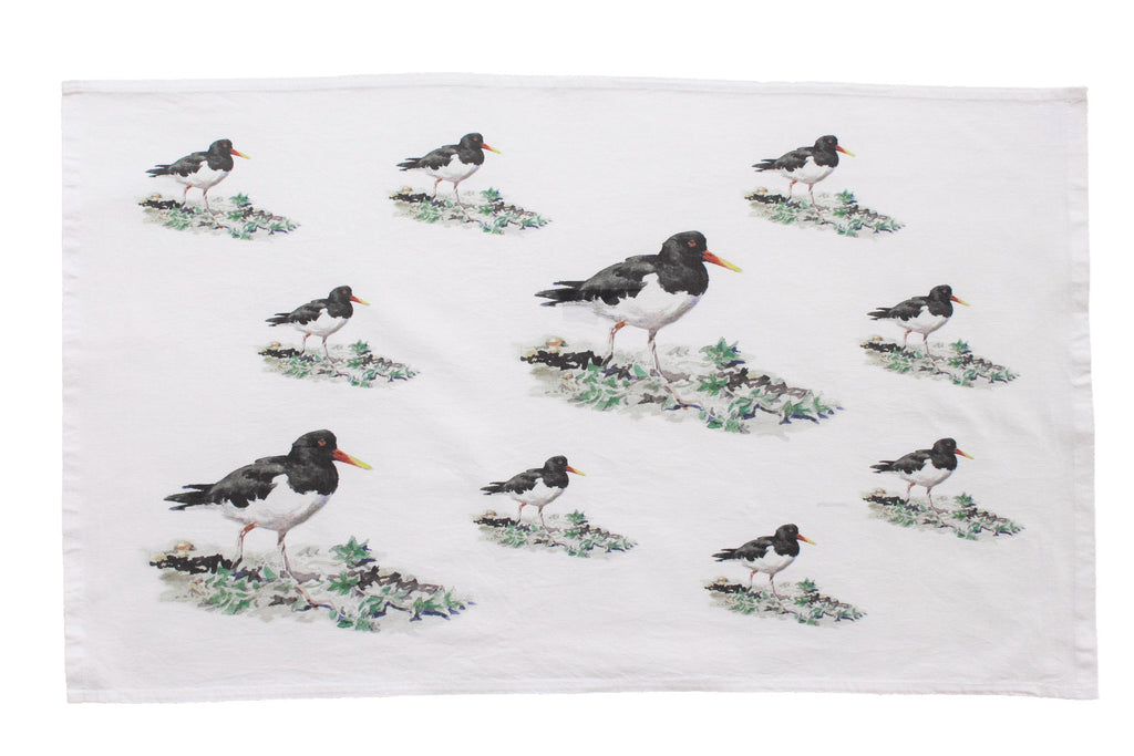 Orkney Storehouse | Oystercatcher Tea Towel Repeating Product