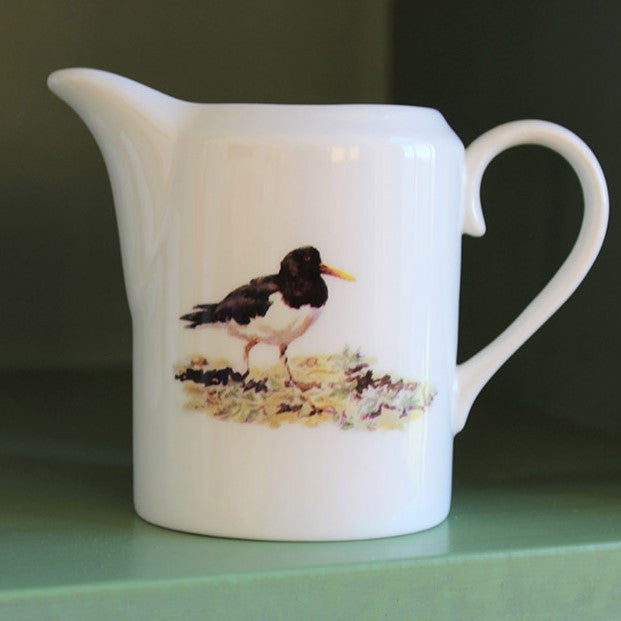 Orkney Storehouse | Oystercatcher Cream Jug Lifestyle
