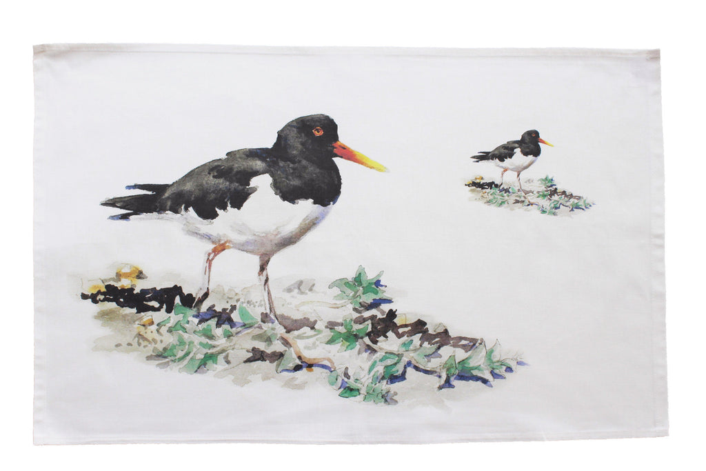 Orkney Storehouse | Oystercatcher Tea Towel Feature Product