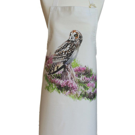 Orkney Storehouse | Short-eared Owl Apron Product