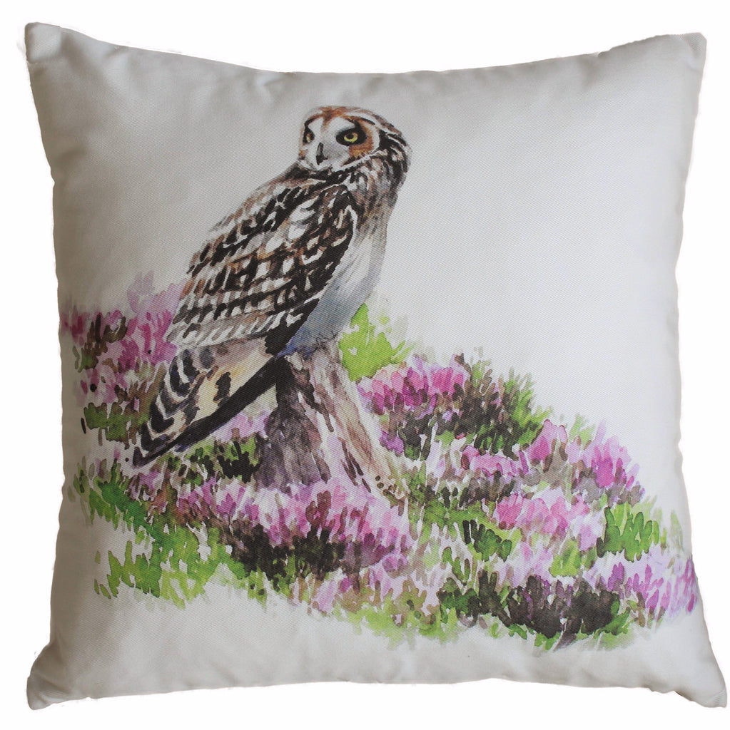 Orkney Storehouse | Short-eared Owl Cushion Product