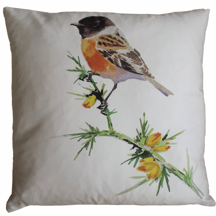 Orkney Storehouse | Stonechat Cushion Product