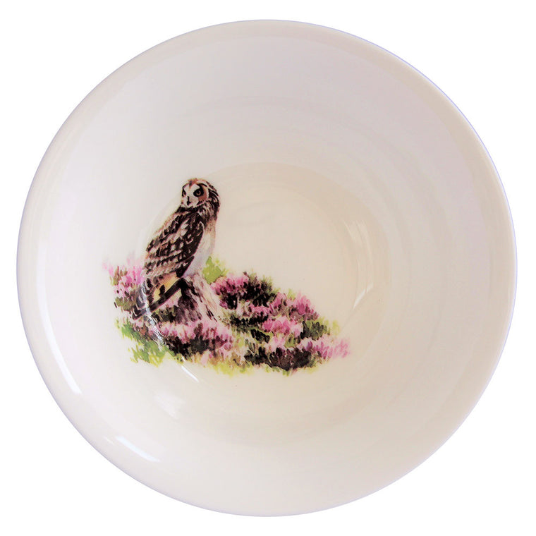Orkney Storehouse | Short-eared Owl Cereal Bowl Product