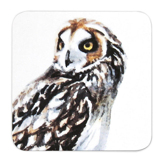 Orkney Storehouse | Short-eared Owl Coaster Product