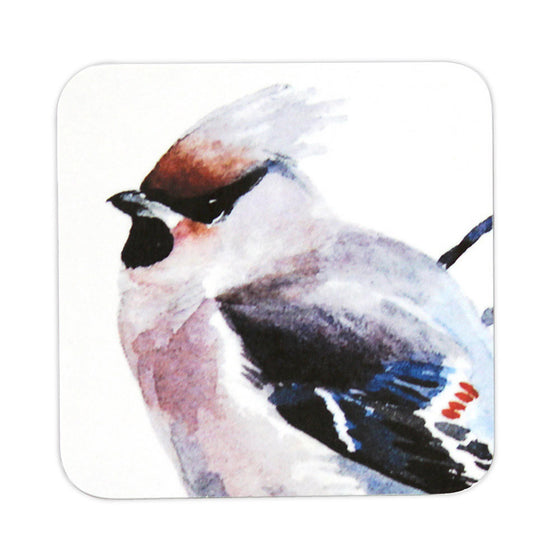 Orkney Storehouse | Waxwing Coaster Product