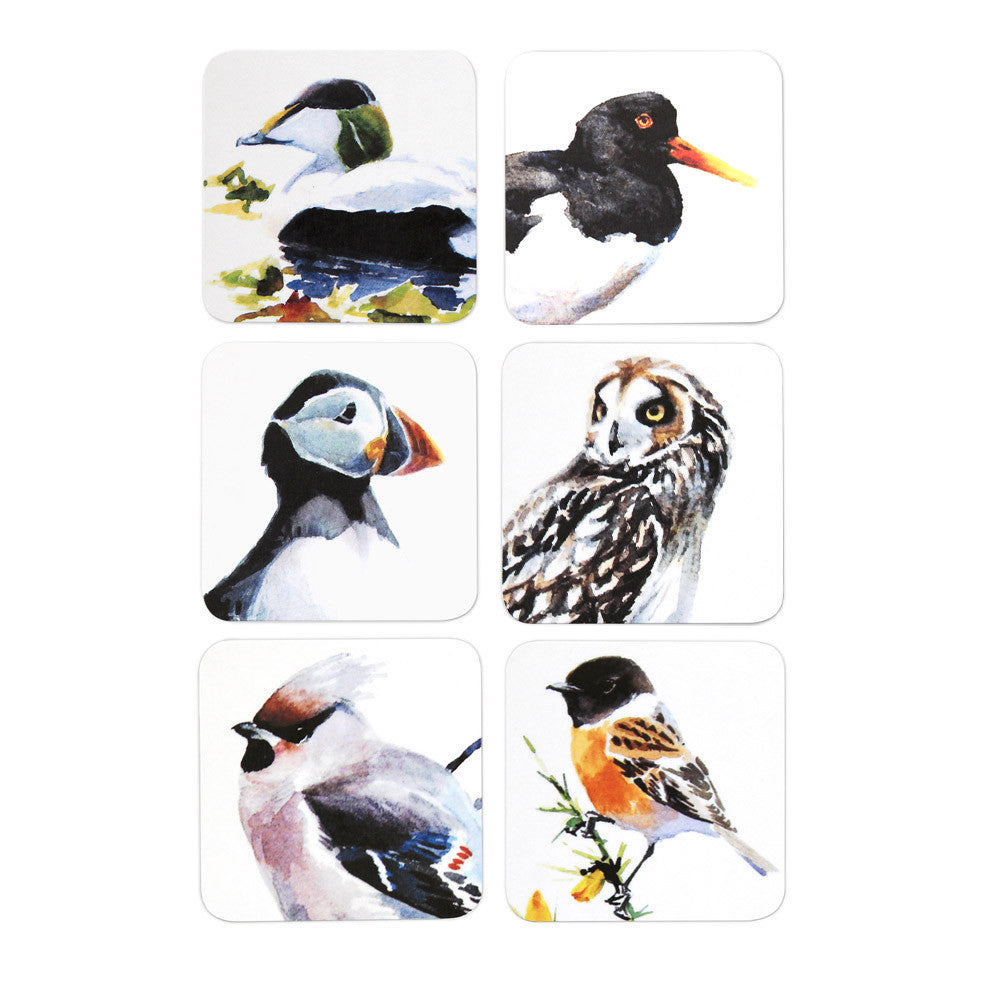 Orkney Storehouse | Puffin Coaster Natural Collection