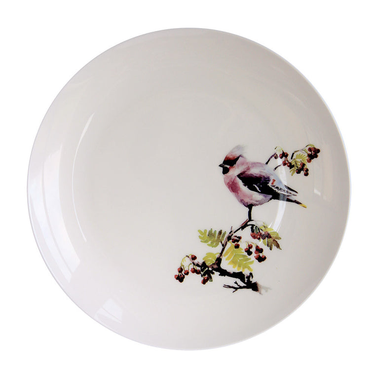 Waxwing Plate
