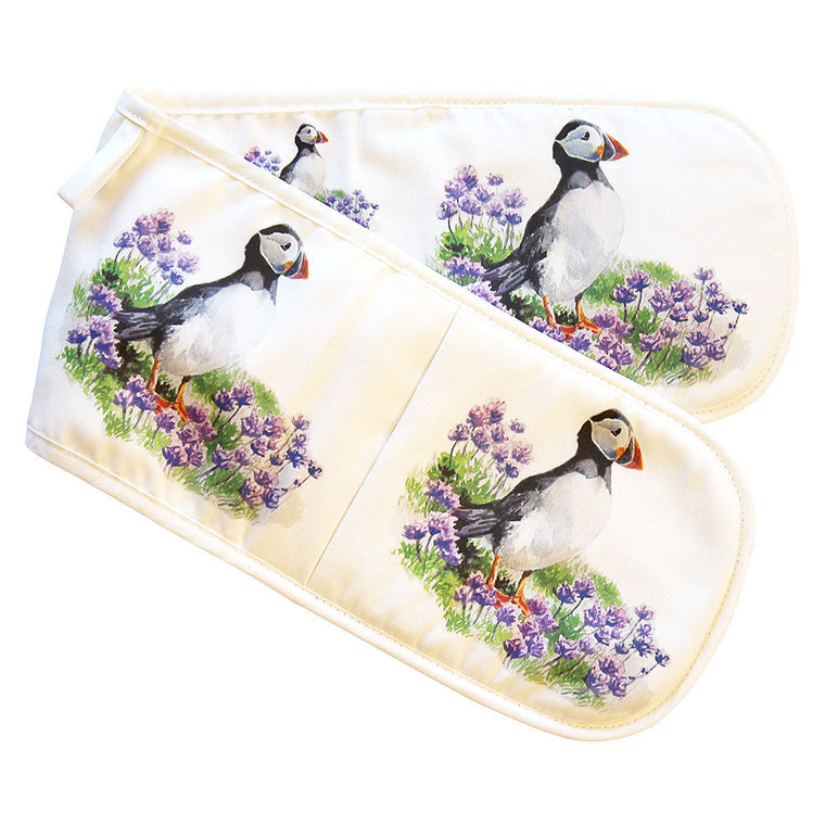 Orkney Storehouse | Puffin Double Oven Gloves Product