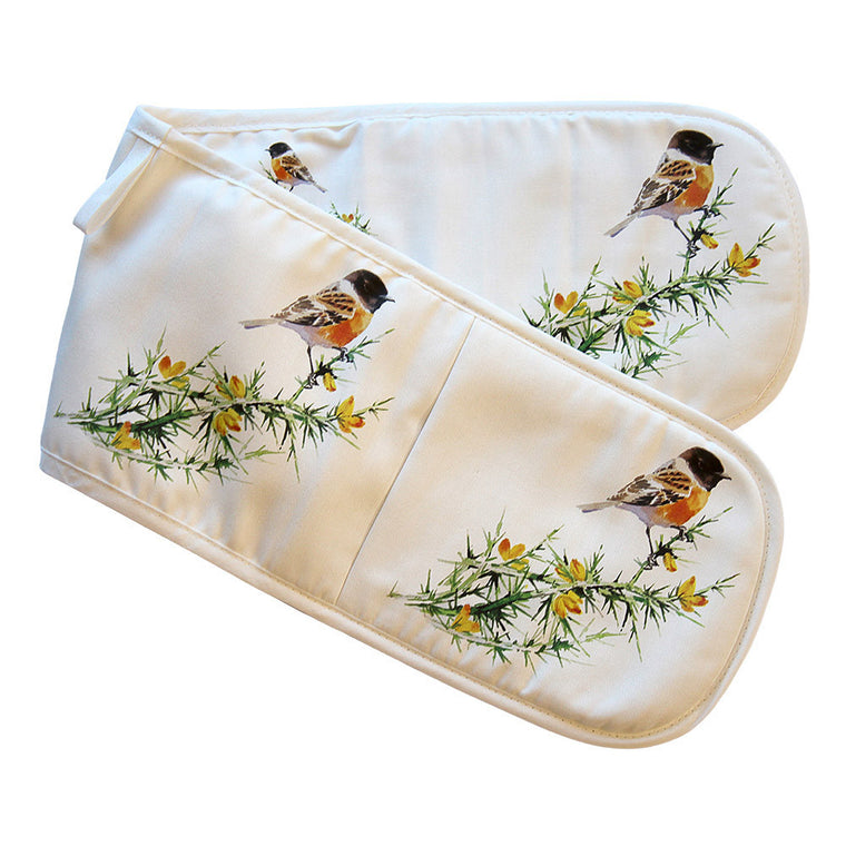 Orkney Storehouse | Stonechat Double Oven Gloves Product