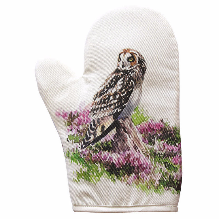 Orkney Storehouse | Short-eared Owl Oven Mitt Feature Product