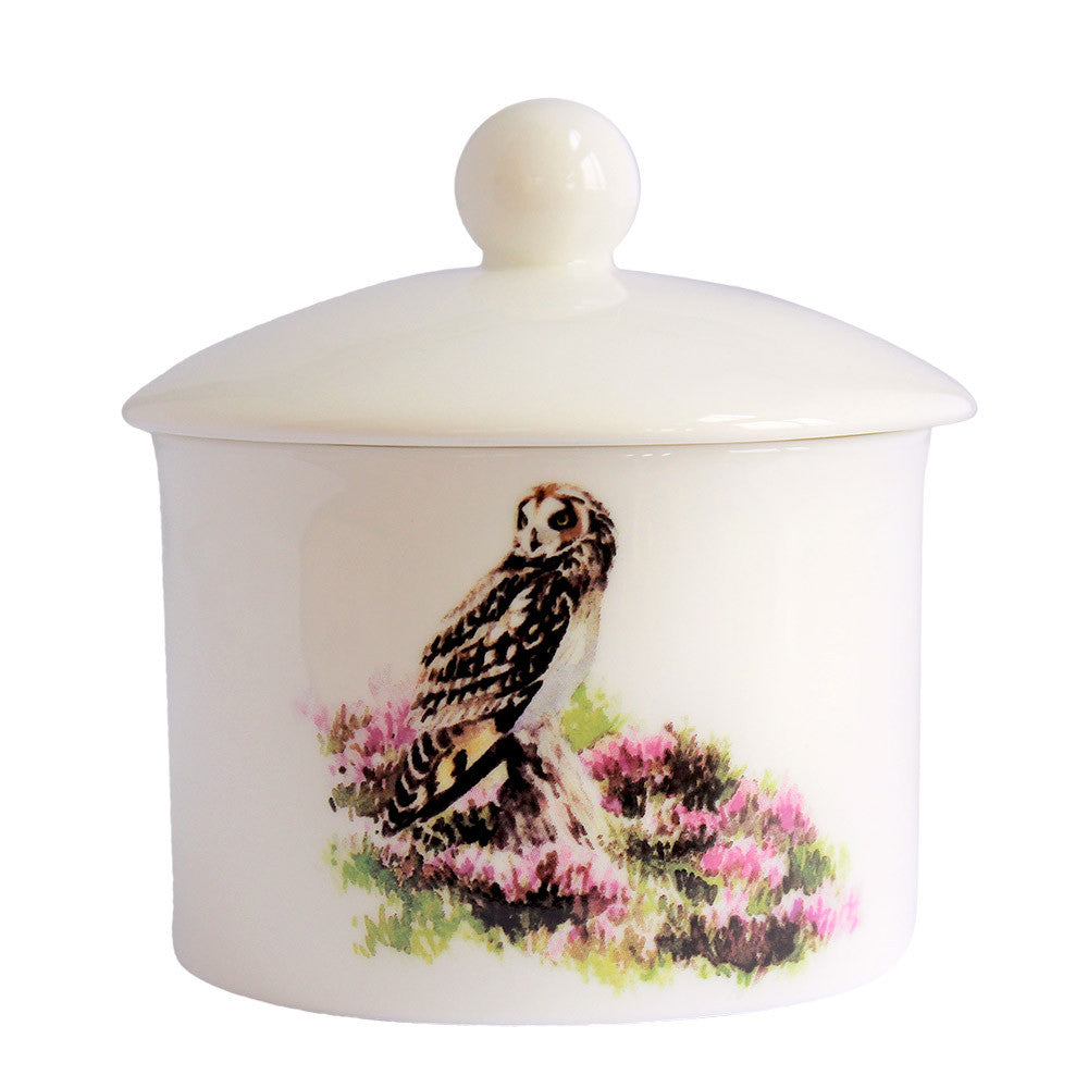 Orkney Storehouse | Short-eared Owl Sugar Bowl Product