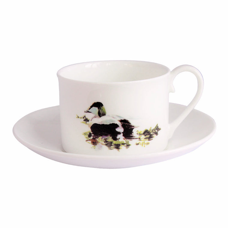 Orkney Storehouse | Eider Drake Teacup and Saucer Product