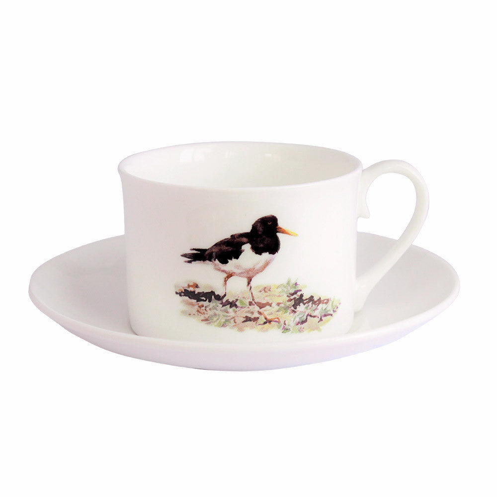Orkney Storehouse | Oystercatcher Teacup and Saucer Product