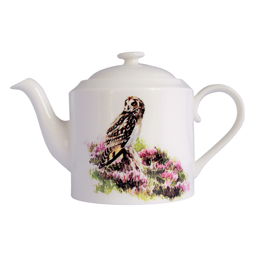 Orkney Storehouse | Short-eared Owl Teapot Product